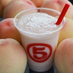 白桃ジュース